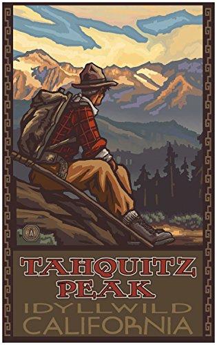 Hike Tahquitz Peak California Idyllwild Mountain Hiker Man T