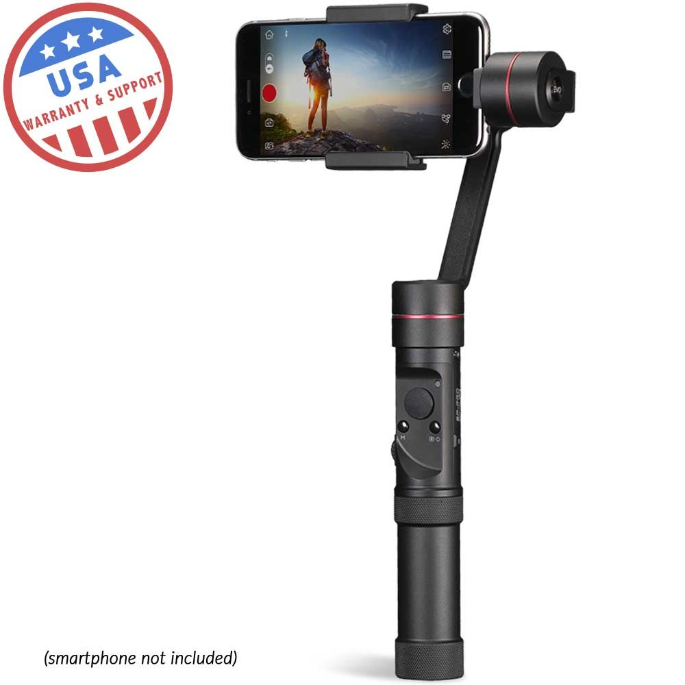 EVO SP-PRO Gen2 3 Axis iPhone Gimbal Stabilizer works with iOS & Android Smartphones, Advanced EVO Camera APP | 1 Year USA Warranty EVO Gimbals EVO-50584