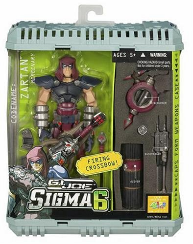 G.I. Joe 8 Inch Sigma 6 Commando Zartan Cobra Mercenary ()