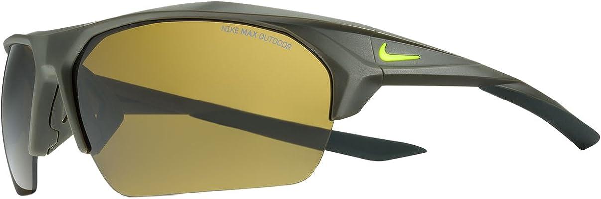 conciencia Ponte de pie en su lugar Parcialmente  Amazon.com: Nike EV1030-339 Terminus Sunglasses (Frame Outdoor Tint Lens),  Matte Cargo Khaki/Electro Lime: Clothing
