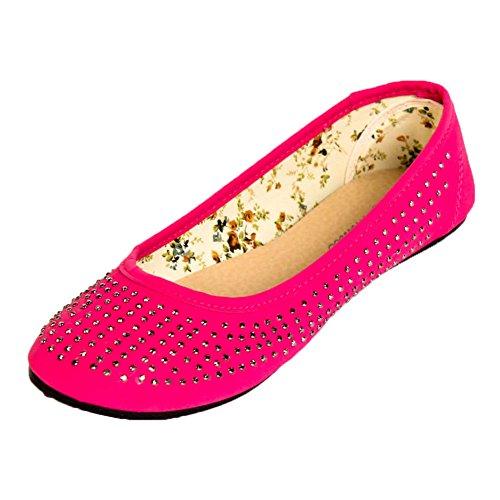 Cammie und Ballerinas Womens verziert Pink Stud Jewel Jewel P4np1qgP8