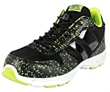 DDTX Spring and Summer Lightweight Safety Sneakers Mens' Steel Toe Work Shoes Black (11.5)