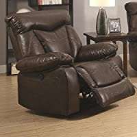 Coaster 601713P Home Furnishings Power Recliner, Dark Brown