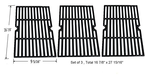 GI8763-Porcelain-coated-Cast-Iron-Cooking-Grid-Replacement-for-Select-Gas-Grill-Models-By-Charbroil-Kenmore-Master-Chef-and-Others-Set-of-3