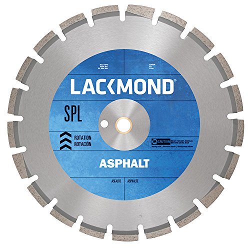Series Walk Behind Concrete Saw (Lackmond HA141251SPL 14-Inch High Speed Diamond Blade for Asphalt and Green Concrete)