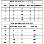 HAOYK Airsoft Paintball Combinaisons Tactiques Hommes Chasse Combat BDU Uniforme Veste Camo Chemise et Pantalon avec… 7