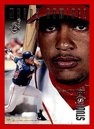 - 1996 Studio #114 Manny Ramirez CLEVELAND INDIANS