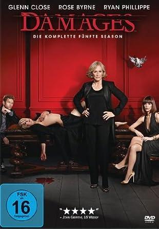 Damages Im Netz Der Macht Die Komplette Fünfte Season 3 Dvds