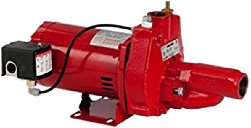 Red lion RJC-75-PREM 3/4 HP Premium Convertible Jet Pump, 115/230V (replaces 602037)