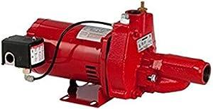 Red lion RJC-75-PREM 3/4 HP Premium Convertible Jet Pump, 115/230V (replaces 602037)