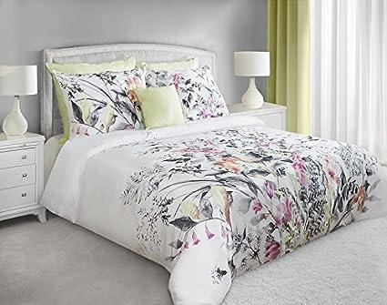 Biancheria da letto in cotone satinato set con 2 federe 70 x 80 cm