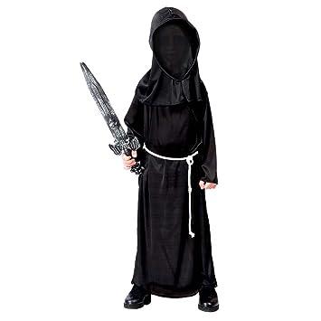 Traje niño fantasma Disfraz señor de la oscuridad L 140/152 ...