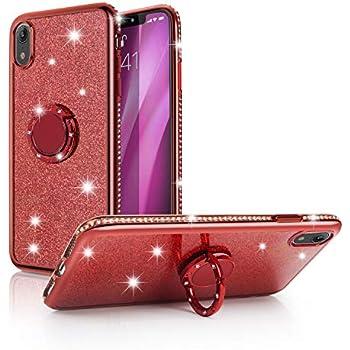Amazon.com: iPhone Xr Case,WATACHE Glitter Cute Phone Case