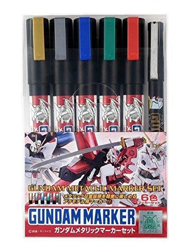Gundam marker GMS121 Gundam metallic marker set