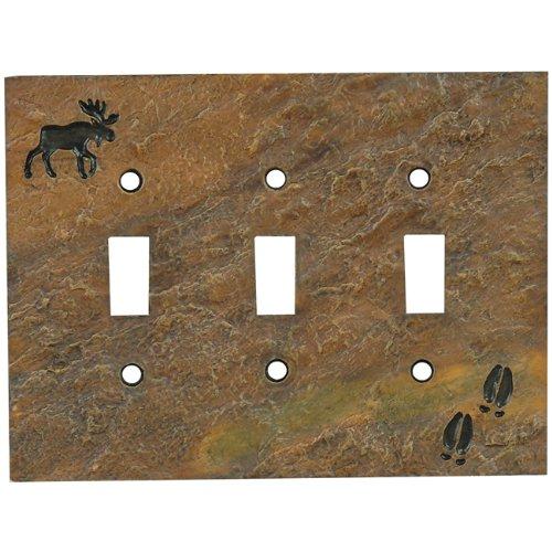 Moose Stone Finish Rustic