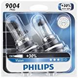 Philips 9004PRB2 Vision Upgrade Headlight Bulb, 2 Pack