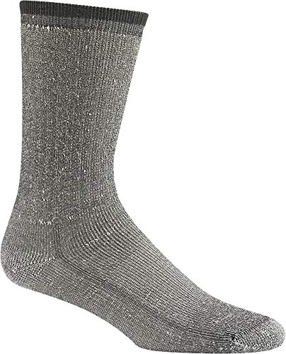 Wigwam Merino Comfort Hiker 2-Pack S2322 Sock, Charcoal - Medium ()