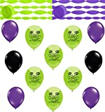 Combined Brands The Incredible Hulk Coordinating Colors Streamers and Balloon Room Decorating Kit
