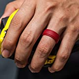 ThunderFit Silicone Rings for Men - 7 Pack Rubber
