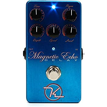 Amazon Com Keeley Kmag Magnetic Echo Delay Effects Pedal