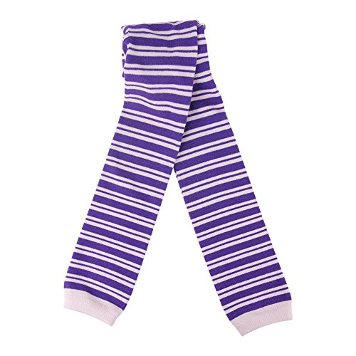 Pink And Purple Striped Tights - 9
