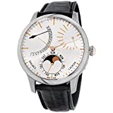 Maurice Lacroix Masterpiece Automatic Movement Silver Dial Men's Watch MP6528-SS001-130-1