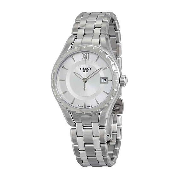 Tissot Reloj Analógico para Mujer de Cuarzo con Correa en Acero Inoxidable T072.210.11.