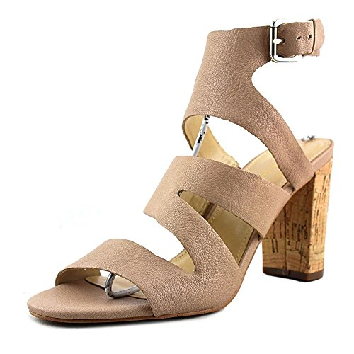 Leder Natural Fisher Leather Zeh Leger Offener Light Marc Frauen Riemchensandalen Paxtin YzAxwTq