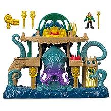 [Patrocinado] Imaginext–dc súper amigos, Aquaman Playset, multicolor