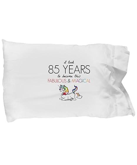 BarborasBoutique 85th Birthday Pillowcase