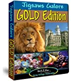 Jigsaws Galore Gold Edition: 200 Beautiful Jigsaw Puzzles for your PC Including Animals, Scenic Places, Buildings, World Travel, Flowers, Holiday Scenes and More!