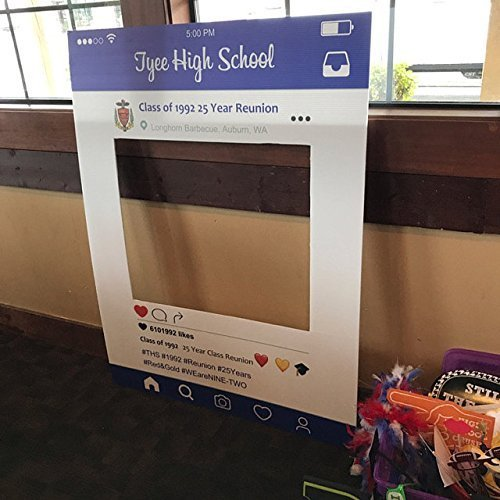 Amazoncom Customized Instagram Frame Cutout Selfi Prop