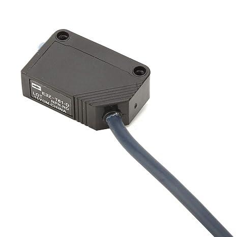 distancia de detecci/ón de 4M Sensor de interruptor fotoel/éctrico Sensor de IR Interruptor NPN Interruptor fotoel/éctrico Interruptor DC12-24V Interruptor de sensor infrarrojo fotoel/éctrico IR
