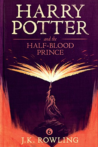 Harry Potter Half Blood Prince Rowling ebook product image