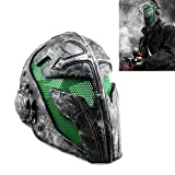 DH LLC Cool Knights Templar Protective Wire Mesh Mask for Airsoft Paintball Display