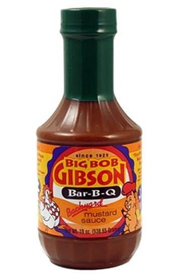 Salsa de Mostaza Big Bob Gibson Backyard (Del Jardín) - 538g (19 oz
