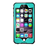 Merit Knight Series Waterproof Case for iPhone 6s - Aqua Blue