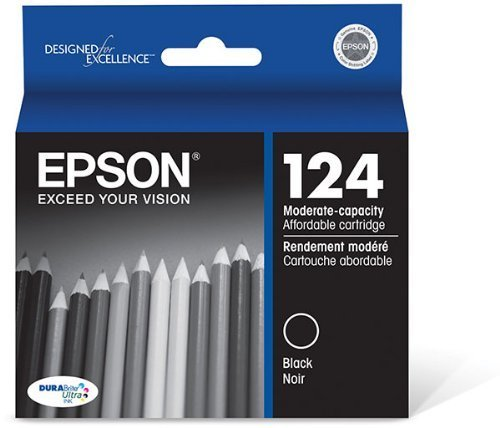 Epson T124120 INK, EPSON, MODERATE CAPACITY BLACK (T124120)