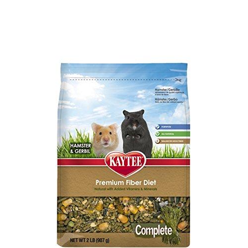 Kaytee Complete Hamster and Gerbil Food, 2-lb bag 51PHdT50MmL