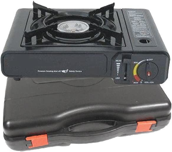M.V. Trading Portable Gas Stove with Carry Case