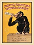 Anisetta Evangelisti Vintage Posters Liquor Alcohol Advertisement Poster (Choose Size of Print)