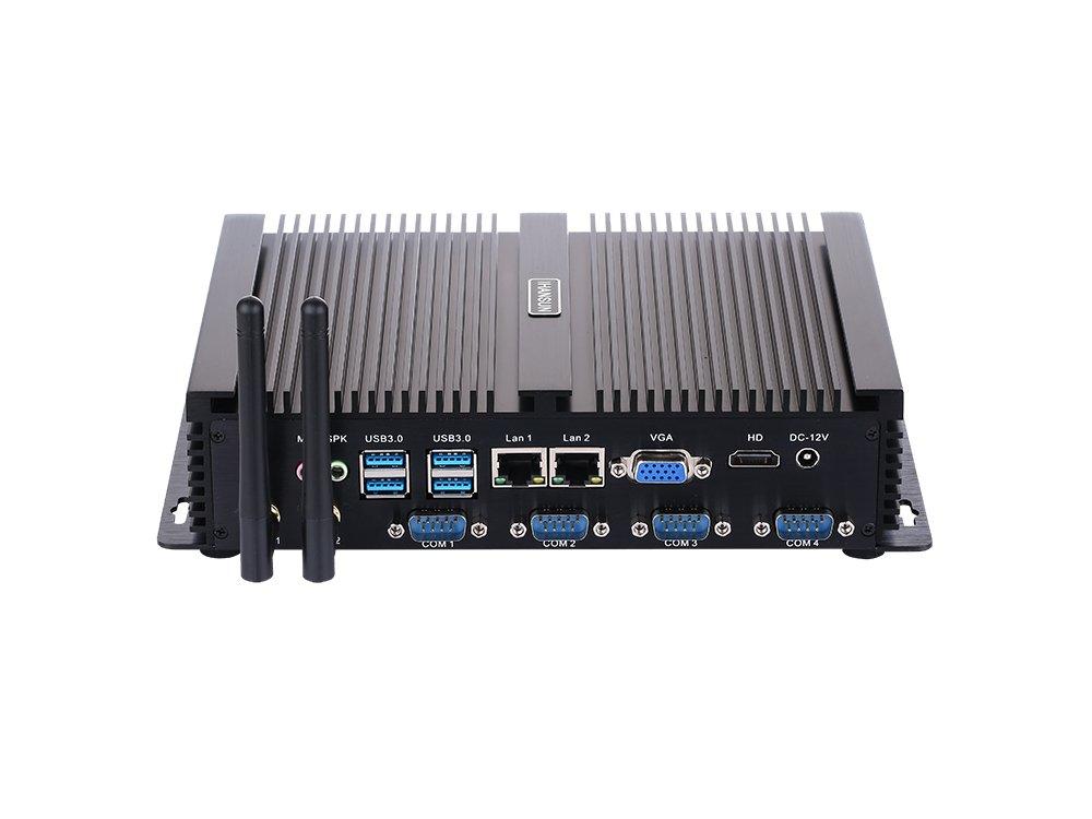 配送員設置 Fanless Industrial PC,Mini PC,Mini Computer,Windows I5 7/10 Computer,Windows Pro/Linux Ubuntu,Intel Core I5 3317U,(Black),[HUNSN IM02],[64Bit/Dual Band WiFi/1VGA/1HDMI/4USB2.0/4USB3.0/2LAN/4COM],(8G RAM/64G SSD) B07F7QR4JL 4G RAM 64G SSD 4G RAM 64G SSD, 津具村:cf10db05 --- arbimovel.dominiotemporario.com