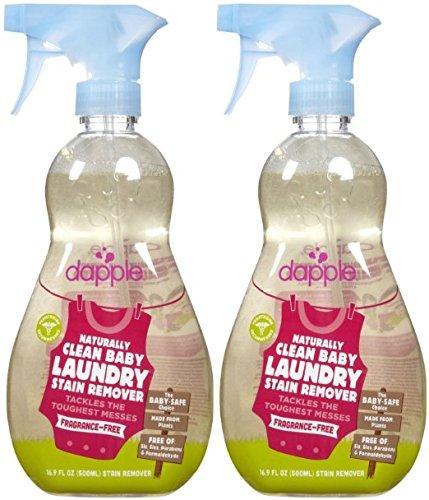 Dapple Stain Remover Spray - Fragrance Free - 16.9 oz - 2 pk
