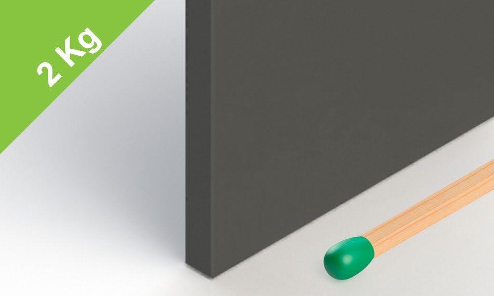Ferrit Quadermagnet Grade Y30 unbeschichteter Magnet bis 250/°C einsetzbar 50x50x5 mm