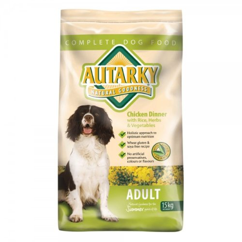 Autarky Dry Adult Chicken Dog Food 15 Kg