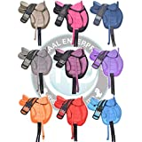 """Manaal Enterprises English Multicolored Synthetic Treeless Freemax English Horse Saddle Tack with Handle Get Matching Girth & Leather Straps Size 14"""" to 18"""" Inches Seat Available"""