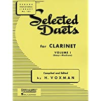Selected Duets for Clarinet: Volume 1 - Easy