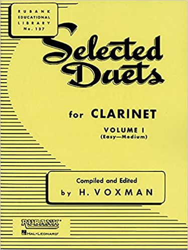 Amazon com: Selected Duets for Clarinet: Volume 1 - Easy to