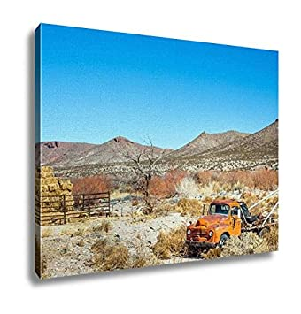 Amazon Com Ashley Canvas Oldtimer Towing Vehicle In The Desert At