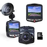 Innoo Tech Car Video Recorder | Full HD 1080P Car Dash Cam / Camera with G-sensor Motion Detection Night Vision | 170 Degrees Wide Angle Lens Car Video Camera with 16GB Micro SD Card